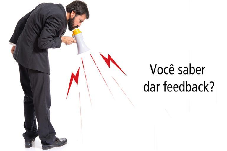 você sabe dar feedback